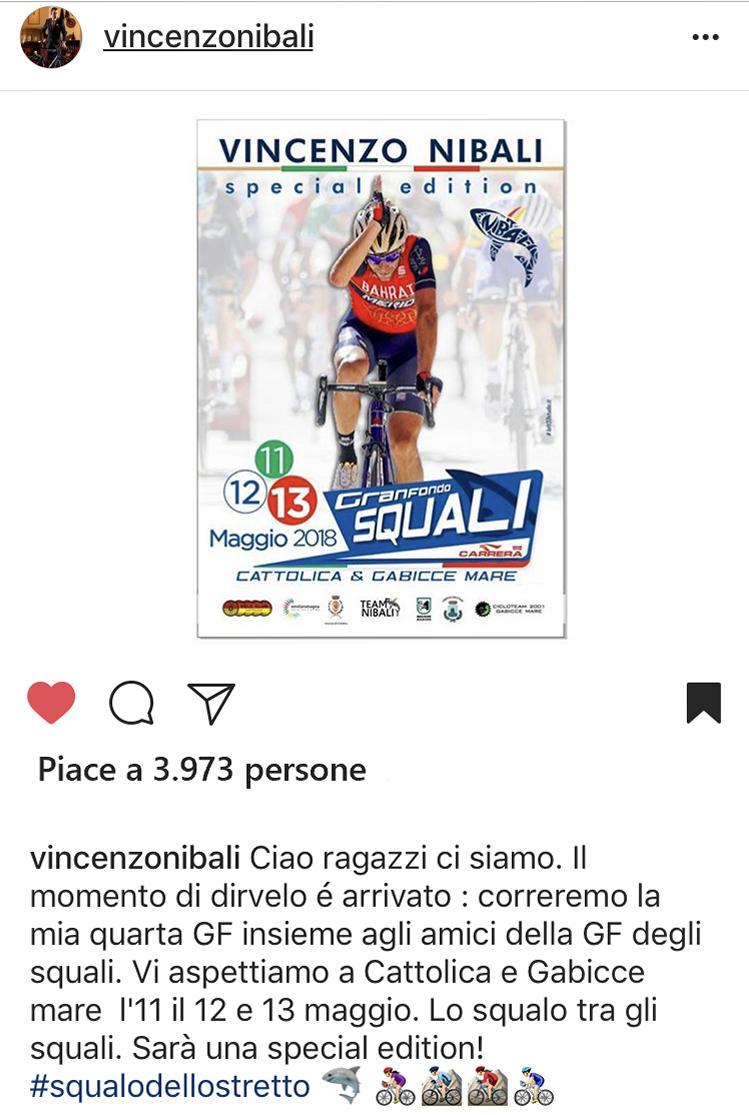 Nibali Instagram