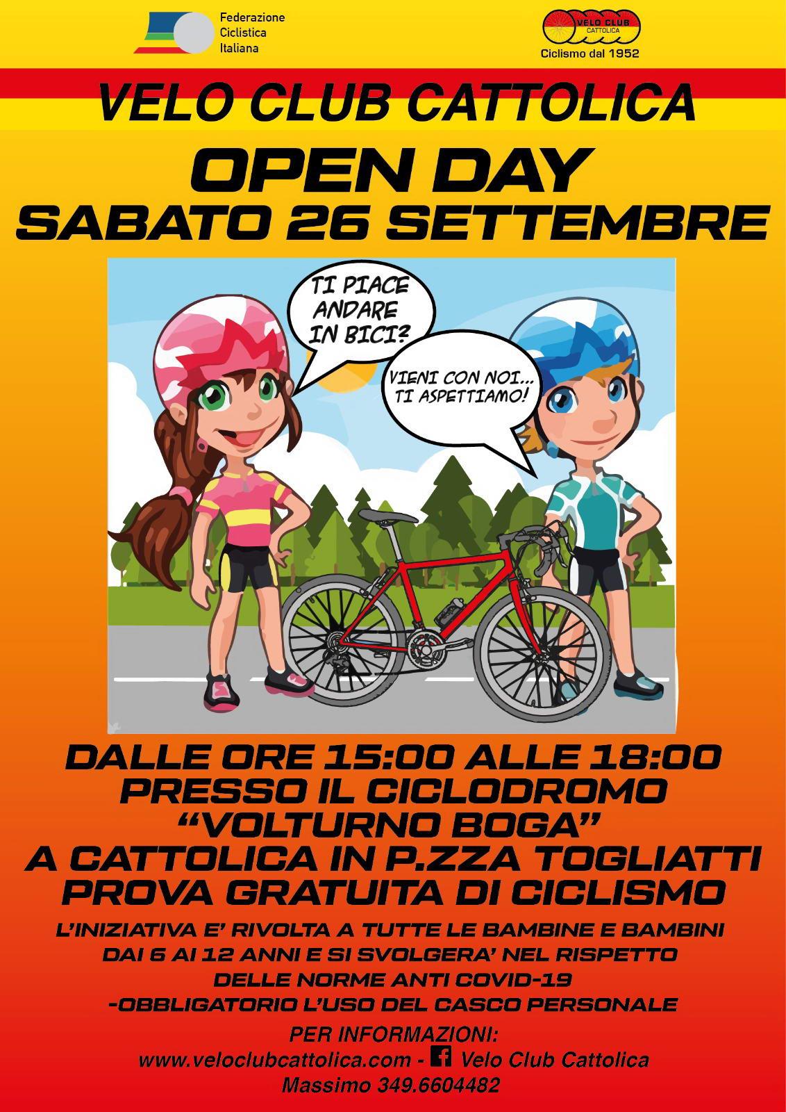 volantino open day 26.09.2020-q60